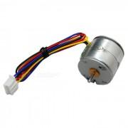 20BY DC paso a paso de motor de gran par de dos fases de cuatro cables (12.0V)