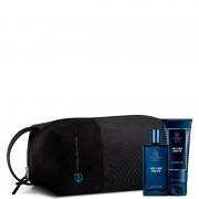 Collistar Vetiver Forte + Doccia Shampoo + Travel Bag Nera Cofanetto Natale 2018 Spray 50 Ml + Doccia Shampoo 100 Ml + Travel Bag Nera