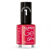 Rimmel Gelový lak na nehty Super Gel (Nail Polish) 12 ml 032 Cocktail Passion