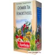 Apotheke - Gyömbér tea Homoktövissel, 20 filter
