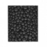 Golyó csillámos 4-8mm 1000ml fekete