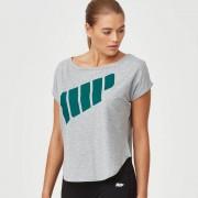 Myprotein T-Shirt Scoop avec Logo - XS - Gris