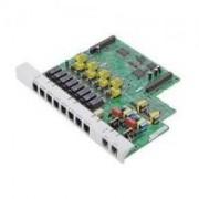 Placa 2 Linhas e 8 Ramais KX-TE82480 - Pabx Panasonic KX-TES32BR