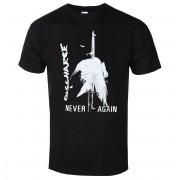 Herren T-Shirt Metal Discharge - NEVER AGAIN - PLASTIC HEAD - PH11477