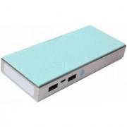 Gizmobitz Power Bank Muisc Box Metal 20000 mAh-Sky Blue