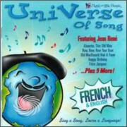 Video Delta Rene,Jean - Uni Verse Of Song-French - CD