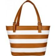 Costa Swiss Girls White, Brown Shoulder Bag