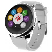 "Smartwatch MyKronoz ZeRound, Ecran Touchscreen TFT 1.22"", Bluetooth (Argintiu/Alb)"