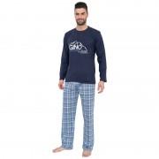 Gino Pánské pyžamo Gino modré (79025) XXL
