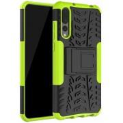 Rugged Hybrid Huawei P20 Pro Case - Groen