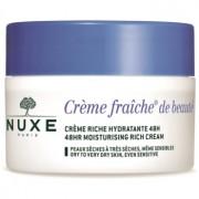 Nuxe Crème Fraîche de Beauté creme hidratante e nutritivo para pele seca a muito seca 50 ml