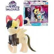 EXCLUSIVE My Little Pony The Movie - SINGING SONGBIRD SERENADE - Pony Sings and Bow Lights Up, Removable Outfit, Inspired by My Little Pony The Movie, Figure scale: 6 inches, Target-Exclusive