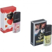 Skyedventures Set of 2 Younge Heart Red-Titanic Perfume