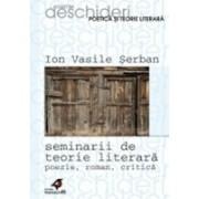 SEMINARII DE TEORIE LITERARA. POEZIE, ROMAN, CRITICA.