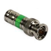 kompresszíós BNC csatlakozó RG6 koax kábelre