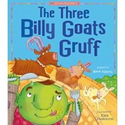 The Three Billy Goats Gruff, Paperback/Tiger Tales