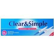 CLEAR AND SIMPLE ZWANGERSCHAPS TEST