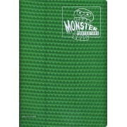 Monster Binder 9 Pocket Trading Card Album Holofoil Green (Anti Theft Pockets Hold 360+ Yugioh, Pokemon, Magic The Gathering Cards)