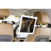 Shop4 - iPad Mini 2 - Autohouder Centrale Hoofdsteun Tablet Houder Zwart