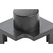 Capac buton Marquardt 827.100.031, capac buton rotund, culoare gri închis, 14.4 x 14.4 mm, adecvat pentru seria 6425 cu led