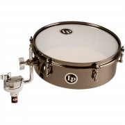 """Latin Percussion DrumSet Timbale LP812-BN, 12""""x4"""", negro niquel"""