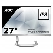 MONITOR LED AOC PDS271 - 27'/68.5CM - 1920X1080 FHD IPS - CONTRASTE 1000:1 - 16:9 - 250CD/M2 - 50M:1 - 4MS - HDMI - COLOR PLATA