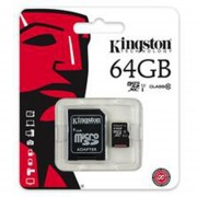 Memoria Micro SDHC 64G Clase 10 G2 C/A SDC10G2/64GB Kingston