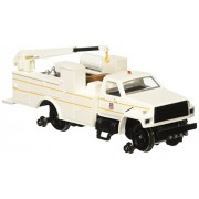 Bachmann Industries Maintenance of Way Hi Rail Equipment Truck with Crane DCC Equipped Union Pacific