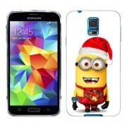 Husa Samsung Galaxy S5 Mini G800F Silicon Gel Tpu Model Craciun Minion Christmas