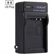 Puluz US Plug Cargador De Batería Para Canon Lp-e10 Batería