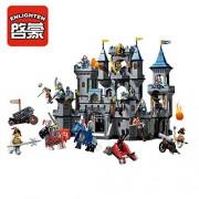 Enlighten Large Lion Castle Knights Building Block 1393pcs- Without Original Box