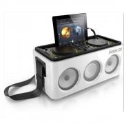 Philips DS8900/10 M1X-DJ Sound System Docking Station - преносима безжична аудио система (бял)