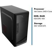 PC HomeWare, ic-j3455-4g-s120, Minitower, Intel Celeron J3455 1.5GHz 4Core, 120GB SSD, 4GB, Intel HD Graphic, crna, 24mj