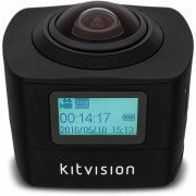 Unbranded Kitvision actioncamera immerse 360 panorama fhd 1440p wifi