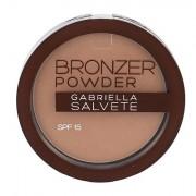 Gabriella Salvete Bronzer Powder bronzující pudr SPF15 8 g odstín 03 pro ženy