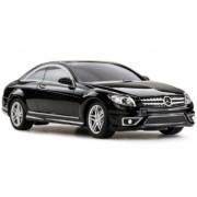 Masina Rastar Mercedes-Benz CL63 AMG 1 24 RTR AA baterie - Negru cu telecomanda