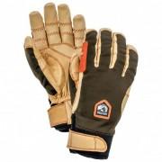 Hestra Ergo Grip Active 5 Finger Guanti (8, beige/nero/marrone)