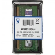 Kingston Pamięć RAM 4GB 1600MHz ValueRAM (KVR16S11S8/4)