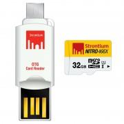 Cartão de Memória MicroSDHC Strontium Nitro 466X SRN32GTFU1T - 32GB
