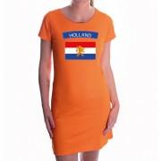 Bellatio Decorations Hollandse vlag jurkje oranje dames