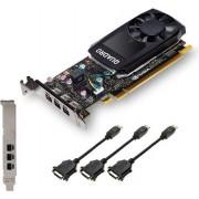 Grafička kartica Quadro P400 DVI, 2GB GDDR5, PCIe 3.0 x16, 3x mDP-DVI, Low Profile, PNY
