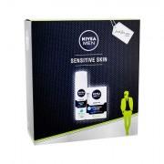 Nivea Men Sensitive sada voda po holení 100 ml + gel na holení 200 ml pro muže