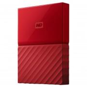 Disco Duro WD My Passport 3TB De 2,5 Pulgadas Con USB 3,0 - Rojo