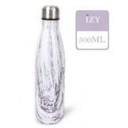IZY fles Design Purple/White 500 ml.