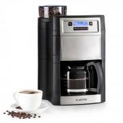 Klarstein Aromatica II kaffemaskin, kvarn, 1,25 l, silver