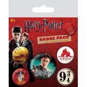 Pyramid International Harry Potter Pin Badges 5-Pack Gryffindor