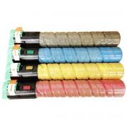 Kit Colorido 4 Cores / Toner Compatível Ricoh MP-C2050 MPC2050 / Aficio MP C2051 C2551 C2030 C2530 C2050 C2550 C2050SFP