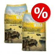 Taste of the Wild 2 x 13 kg Taste of the Wild - High Prairie Canine