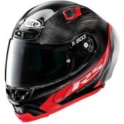 X-lite Casco X-803 Rs Hot Lap Carbon rosso