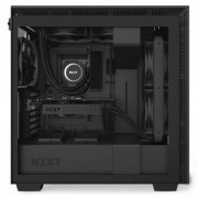 Кутия NZXT H710 Matte Black, Middle Tower, NZXT-CASE-H710B-B1